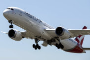 Dreamliner took off from Melbourne to LA in 2017 beginning a new era for the Australian airline.