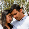 Ashwitha and Praveen D'Souza a grieving their baby girl Nigella, who was declared deceased soon after she was born at Blacktown Hospital on June 22, 2020.