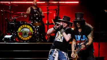 Internationally renowned rock band Guns N' Roses is coming to Australia.