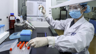 The world watches as China develops a COVID-19 vaccine.