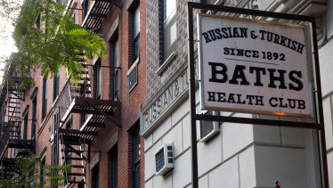 The Russian and Turkish baths in Manhattan's East Village.