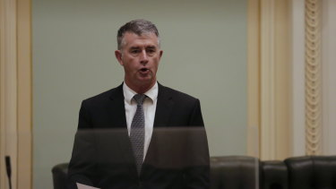 """Insiders said Tim Mander was pushing to join the LNP's organisational wing, which """"has the power to manage all the affairs of the party""""."""
