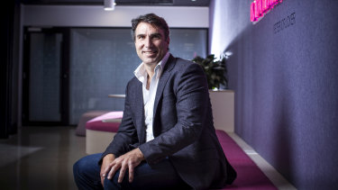 MYOB chief executive Greg Ellis cut 130 staff last week.