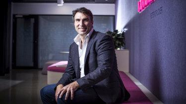 MYOB chief executive Greg Ellis cut 130 staff last week.