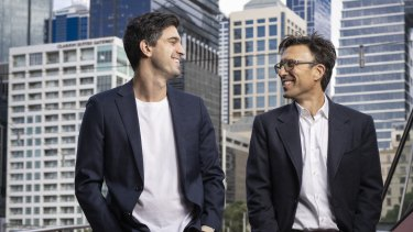 Afterpay founders Nick Molnar and Anthony Eisen.