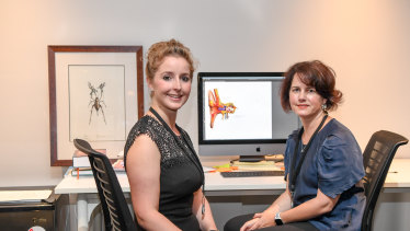 Liz Williams and Kate Lomas, co-founders of Hemideina. The start-up is named after the scientific term for the Wellington tree weta insect.