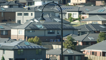 Figures released last week showed Australian house prices leapt by 2.1 per cent in February.