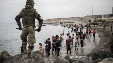 The regional leader of Ceuta criticised what he described as Morocco's passivity in the face of the migrant surge.