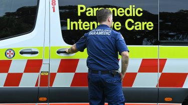 Unions say paramedics are at the point of exhaustion.