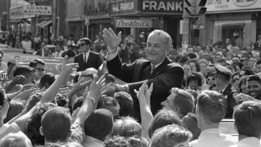Biden's politics recall president Lyndon Johnson's Great Society.