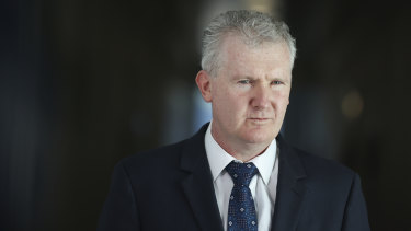 Senior Labor MP Tony Burke has repaid more than $8600 claimed from taxpayers for family flights in 2012.