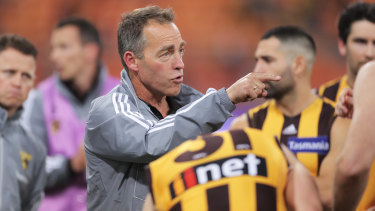 Clarkson knows Hawthorn need to improve.