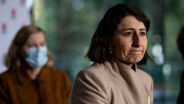 NSW Premier Gladys Berejiklian gave an assurance to the construction industry that it could reopen on July 31.