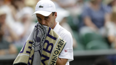 Roberto Bautista Agut could not overcome Djokovic.