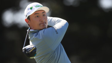 Haotong Li has a two-shot lead heading into the weekend.