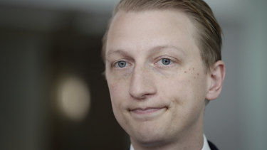Senator James Paterson has criticised former senator Nick Xenophon over his work for Chinese company Huawei.