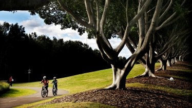 The parklands at Homebush Bay have enabled population growth while improving the environment.