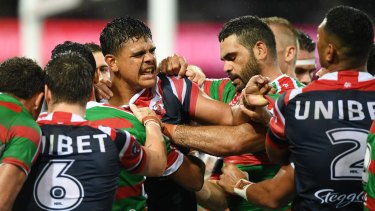 Boots to fill: Is Latrell Mitchell poised to replace Greg Inglis at South Sydney?