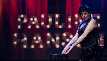 Drew Forsythe puts on the ritz as Pauline Hanson inThe Wharf Revue: UNR-DACT-D.