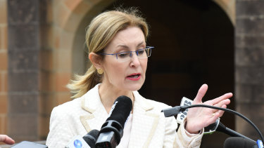 Environment minister Gabrielle Upton has been criticised for not doing enough to address the problem.