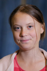 Speaking her mind: Swedish climate change activist Greta Thunberg.