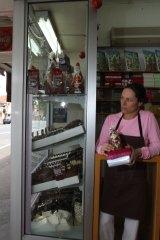 Chocolate is paying the bills for Pete Evans' former partner Astrid Edlinger.