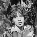 """Mick Jagger, pictured in 1966, came to visit when he was """"just a grubby student""""."""