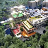 An artist's impression of Lindfield Learning village.