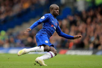 N'Golo Kante is not going to train due to concerns about the coronavirus.