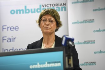"""Victorian Ombudsman Deborah Glass accused the government of """"seriously underfunding"""" her integrity body."""