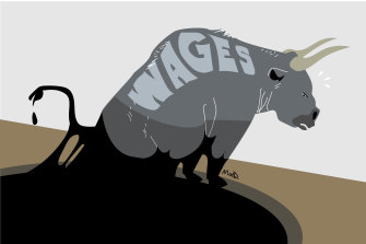 Wages in Australia might be on their way up but there's a lot of catching up to be done.