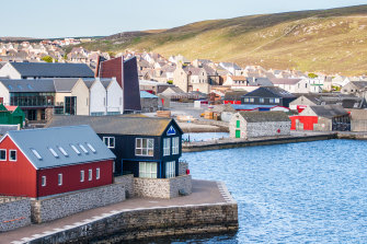 Lerwick, Scotland's most northerly and easterly town.