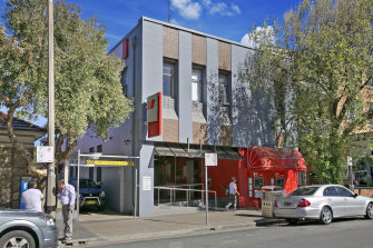 The former Westpac branch in Bondi Beach is being offered at auction.