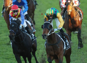 Easy Eddie, right, can bounce back to his best in the Christmas Classic.