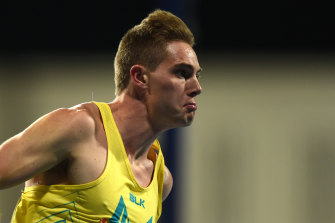 James Turner claimed his second gold medal of the championships for Australia.