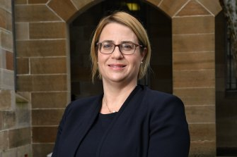 Georgina Harrisson is the new NSW public school boss but has never taught.