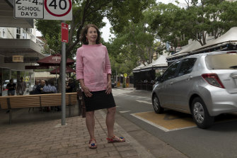 North Sydney Mayor Jilly Gibson wants to encourage walking and talking and a sense of community.