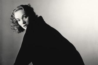 Marlene Dietrich in 1948.