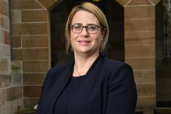 Education Department secretary Georgina Harrisson said the school ventilation audit began last week.