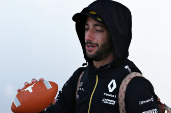 Daniel Ricciardo has bought a house in LA and enjoys getting away there.