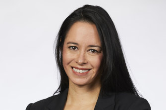 Australian Women Lawyers director and policy officer at the Women Barristers Association, Astrid Haban-Beer.