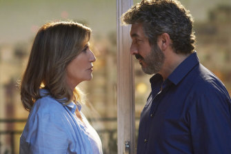 Mercedes Moran (Ana) and Ricardo Darin  (Marcos)  have a lot of baggage to unpack.