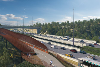 The North East Link could look a lot like this.