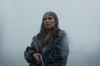 Noomi Rapace in a scene from Lamb.