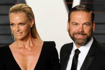 Lachlan and Sarah Murdoch celebrated 20 years of marriage.