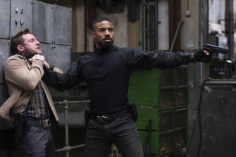 Michael B. Jordan in the latest iteration of Tom Clancy, Without Remorse.