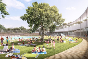The designs for the new Parramatta pool have been unveiled. The project is due to be completed in 2023.