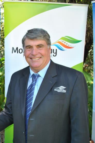 Moreton Bay mayor Allan Sutherland.