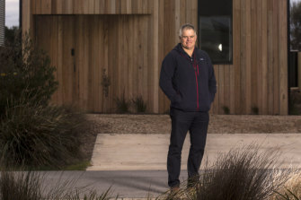 Brendan Condon, the developer of the Cape Paterson estate, south-east of Melbourne.