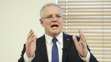 "Prime Minister Scott Morrison has called for ""congestion busting"" in the bureaucracy."